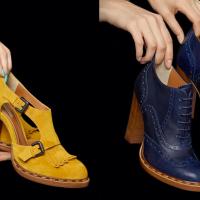 Des chaussures femmes... masculines !!!