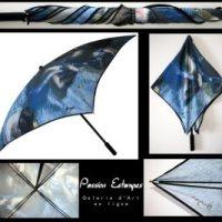 Quand le parapluie devient une oeuvre d'art